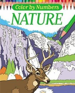 Color By Numbers - Nature [Chartwell Coloring Books]
