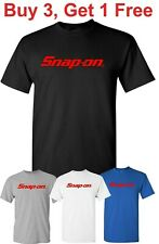 Snap-On T Shirt Tools Mechanic  Auto Parts Racing Snap on Tee Shirt