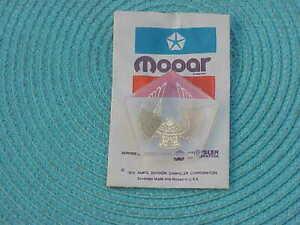 1990 1991 Chrysler Imperial Hood Ornament INSERT MEDALLION NOS MoPar