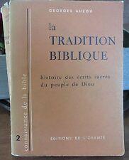 Georges Auzou, La tradition biblique…