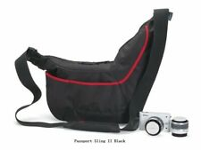 Lowepro Passport Sling II Camera Shoulder Bag, BLACK/RED, NEW