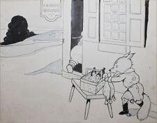 GRACE DRAYTON- NY Illustrator-3 Signed Mixed Media Paintings-Children/Animals