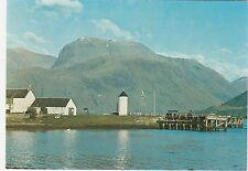Scotland - Ben Nevis from Loch Linnhe - Vintage Postcard