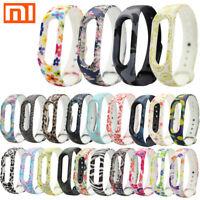 Für XIAOMI MI Band 2 Silicon Handschlaufe Armband Armband Ersatz Bunt