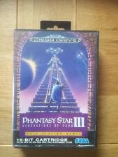 * Phantasy Star III * Sega Mega Drive - komplett SMD