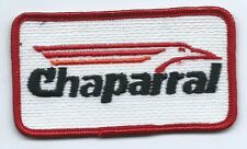 Chaparral Boat manufacture employee/operator patch 2 X 3-1/2 #2211