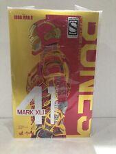 Hot Toys Iron Man 3 Mark 41 MK XLI Bones Retro Armor Version 1/6 MMS 412