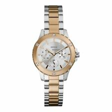 Guess Silver Dial Two-Tone Stainless Steel Ladies Watch (W0443L4)