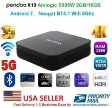 Pendoo X10 4K S905W 64bit Android 7.1/ 2GB RAM+16GB Memory Wifi 5G 3D Bluetooth