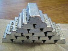 21 pounds lead ingots-2% tin added-hard lead for pistol bullets