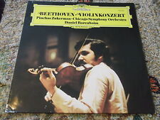 Beethoven Violinkonzert Pinchas Zuckerman Dainiel Barenboim Chicago Symphony LP