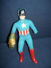 Mego Captain America Action Figure 1974 Broken No Shield