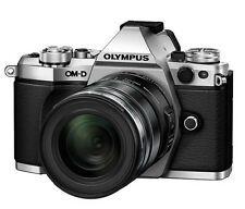 Olympus OM-D E-M5 Mark II 12-50mm F3.5-6.3 Zoom Lens Kit - Silver  -Fedex to USA