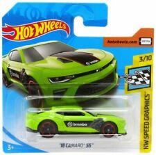 18 CAMARO SS - HOT WHEELS SPEED GRAPHICS