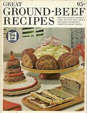 Great Ground-Beef Recipes Family Circle Paperback 1968