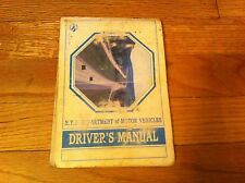 1987 New York State Department Of Motor Vehicles Driver's Manual Mario M. Cuomo