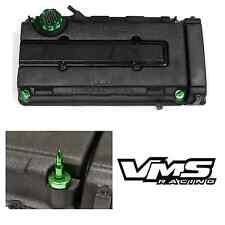 VMS GREEN ENGINE DRESS UP KIT B16 B18 VALVE COVER INSERT WASHER SEAL BULLET NUT