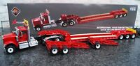 International HX520 Tandem Tractor With XL120 Low-Profile HDG Trailer 1:50 71016