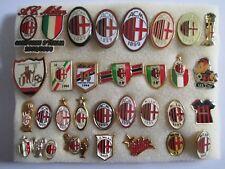 lotto 29 pins lot MILAN FC club spilla football calcio pins broches spille