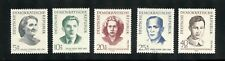 Germany (Ddr) Mnh Complete Set #B84-88 Foreign Victims of Nazis Stamps