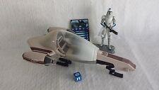 Star Wars Deluxe FREECO SPEEDER & Cold Weather 501st CLONE TROOPER Clone Wars