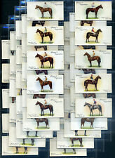 PLAYERS  Cigarette Card Set - DERBY AND GRAND NATIONAL WINNERS 1933 - Racehorses