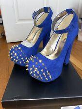 Blue pumps 7