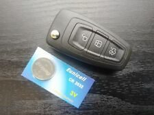 FORD FOCUS MONDEO C/S-MAX TRANSIT CONNECT 3 BUTTON REMOTE KEY FOB SHELL / CASE