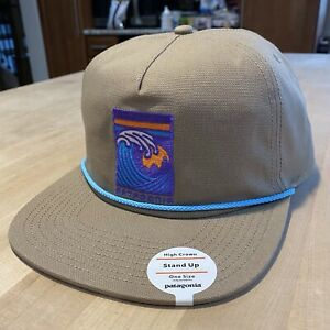 Patagonia Viewfinder Stand Up Hat - New With Tags - Mojave Khaki - Spring 2017