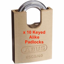 ABUS 65CS40 40mm -KEYED ALIKE Brass Bodied Padlock