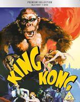 * KING KONG ( 1933 FAY WRAY ) HMV PREMIUM COLLECTION BLURAY + DVD NEW & SEALED