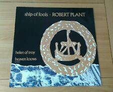 "Robert Plant Ship Of Fools 1988 Euro 12"" Single A1 B1 Classic Rock Led Zeppelin"