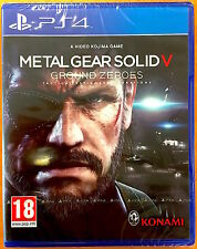 Metal Gear Solid V - Ground Zeroes - Playstation PS4 Games - Brand New & Sealed