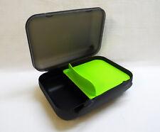 TUPPERWARE To Go Lunch-Box mit Trennung Brotbox Sandwich SCHWARZ/LIMETTE