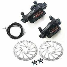 Mtb Bb7 Mechanical Disc Brake Front Rear 160mm Whit Bolts Cable Sports &amp