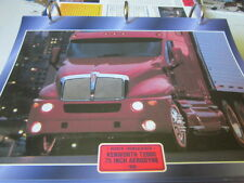 "Super Trucks Hauben Zugmaschinen USA Kenworth T2000 75"" Aerodyne 1998"