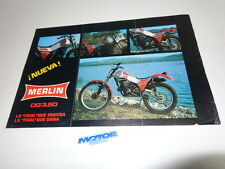 MERLIN trial bike DG.350 CATALOG (P-3)