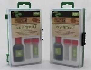 Gardman  Soil Test Kit pH Testing Kit 15 tests, barium sulphate, pH tester