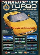 "Lotus Turbo Challenge 2 ""Gremlin"" 1991 Magazine Advert #5604"