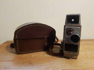 Vintage G.B  Bell & Howell 624 EE 8mm Autoset Movie Camera with a Leather Case