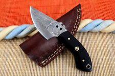 MH KNIVES CUSTOM HANDMADE DAMASCUS STEEL FULL TANG HUNTING/SKINNER KNIFE MH-371S