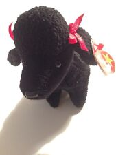 Vintage Ty Beanie Babies Baby GiGi the Black Poodle Dog Puppy 1997 Mwmt