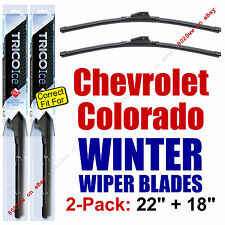WINTER Wiper Blades 2-Pack Premium 2015+ Chevy Chevrolet Colorado 35220/180