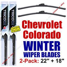 WINTER Wiper Blades 2-Pack Premium 2015-2016 Chevy Chevrolet Colorado 35220/180