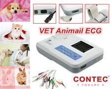 Factory Veterinary Vet Use 1-channel Electrocardiograph ECG EKG MACHINE-ECG100G