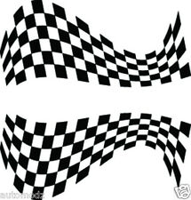 RC airbrush stencil's / paint mask's twisted checkers2 (SINGLE USE ONLY)