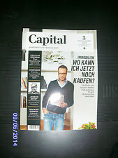 CAPITAL Nr. 5 / 2014 - Neu - Immobilien kaufen, Commerzbank, Biver, Flugpreise