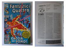 I Fantastici Quattro 126, Lire 3000, Marvel Comics, Aprile 1995, Uomo Ragno