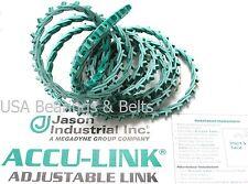 Accu Link Size 3L  3/8 x 3 Linear Feet Adjustable V belt  per foot Link Belting