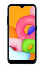 SAMSUNG Galaxy A01, 16GB Black - Prepaid Smartphone